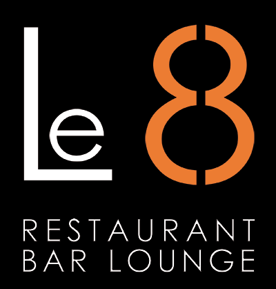 Logo restaurant le 8